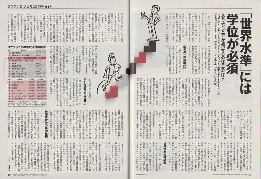 『AERA』16年10月31日号D/朝日新聞出版